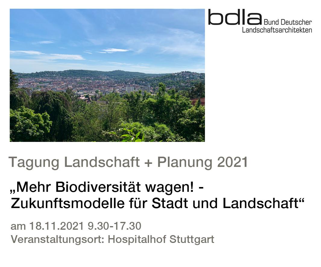 Tagung Landschaft und Planung, Biodiversität