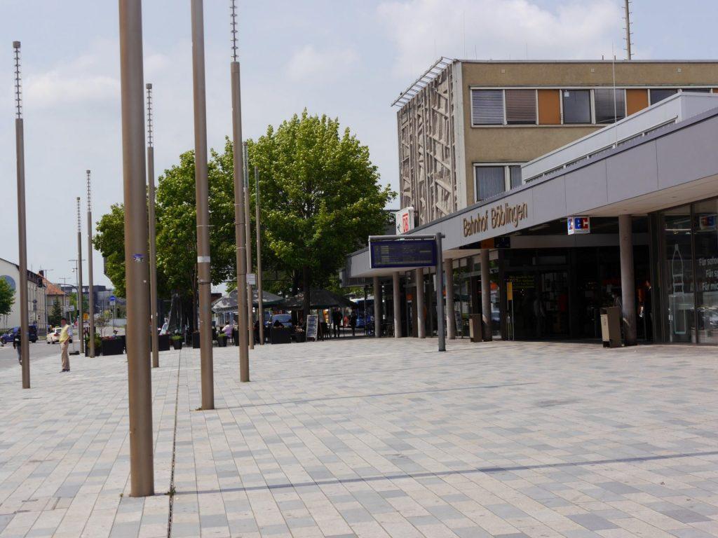 Böblingen, Wolfgang-Brumme-Allee - Bahnhofsplatz
