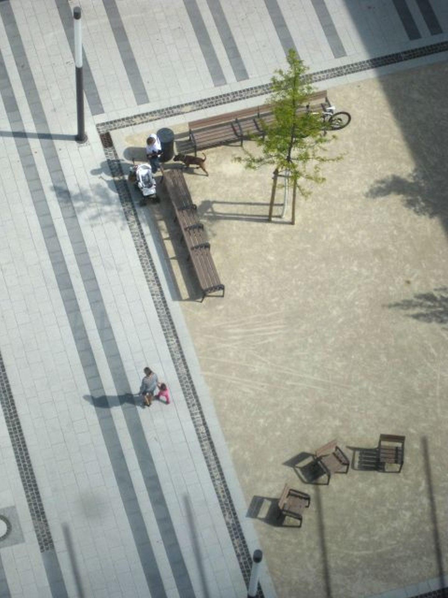 Freiburg, Neue Mtte Weingarten-West - Else-Liefmann-Platz