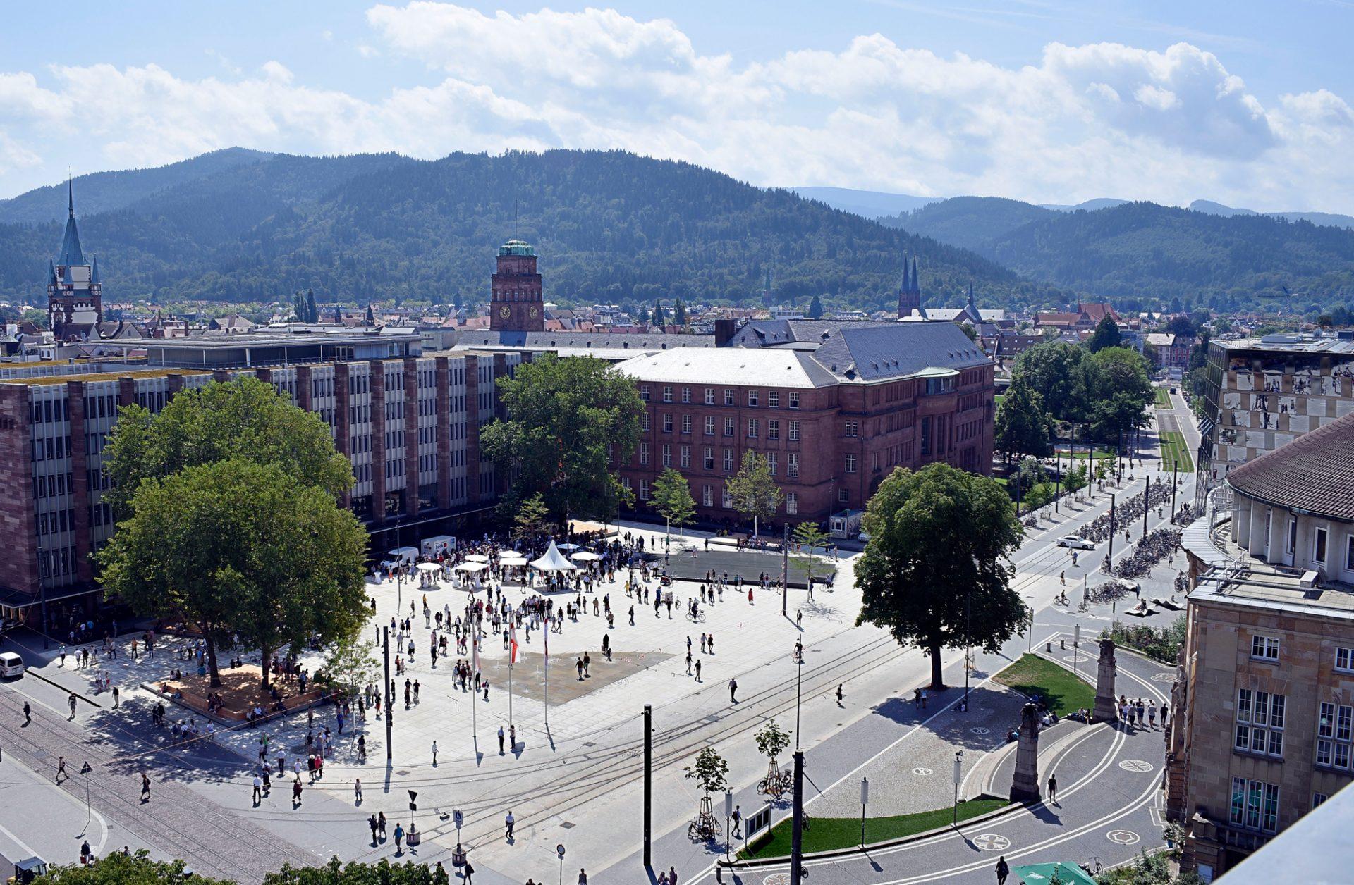 Freiburg, Platz der Alten Synagoge
