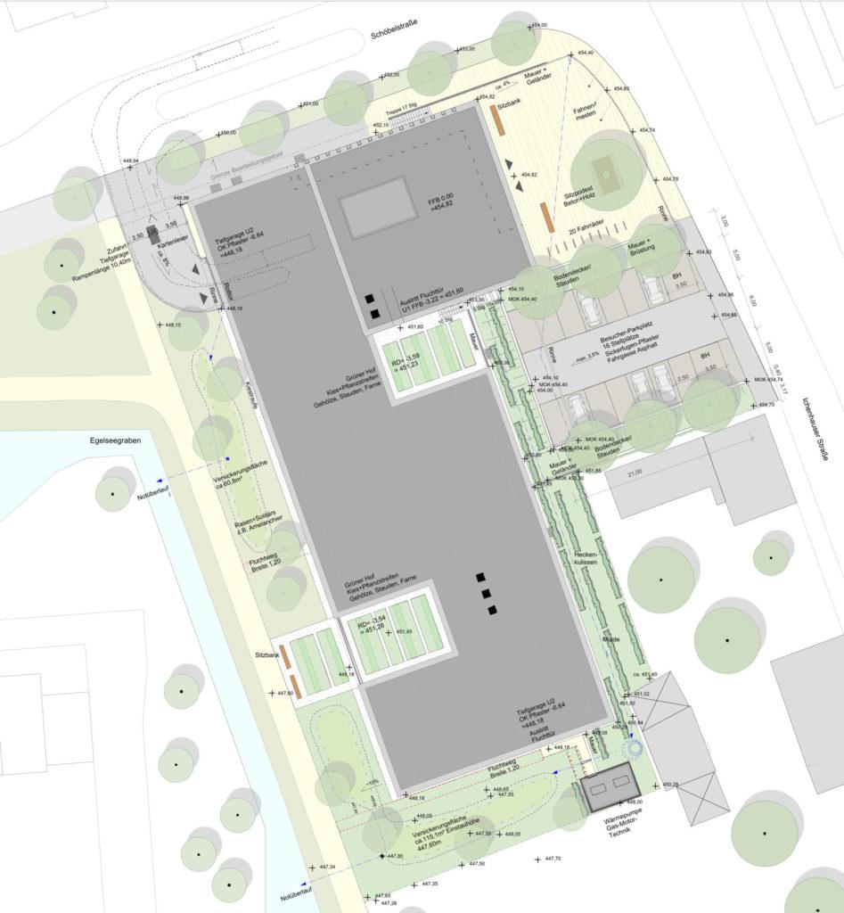 Günzburg, Amtsgericht - Plan