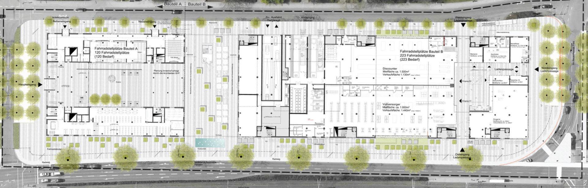 Heidelberg, Mathematikon - Plan