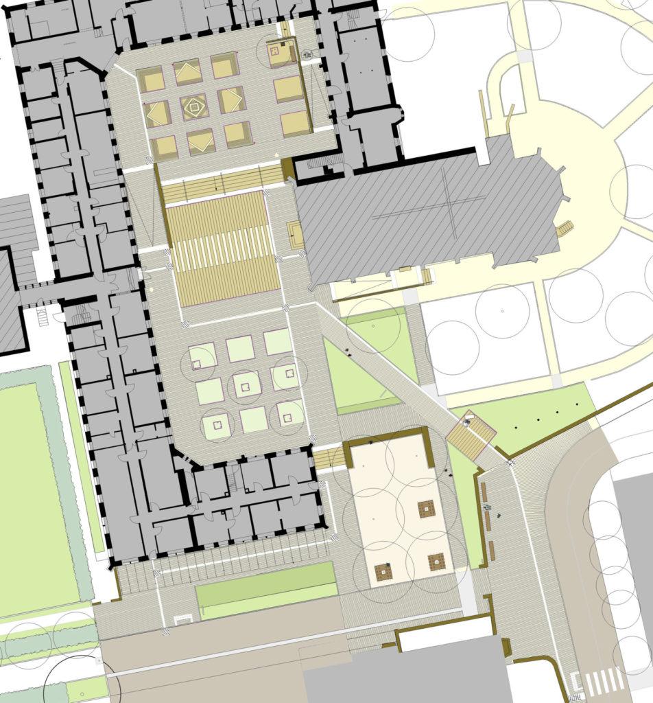Schramberg-Heiligenbronn, St. Franziskus Klosterhof - Leitsystem Plan