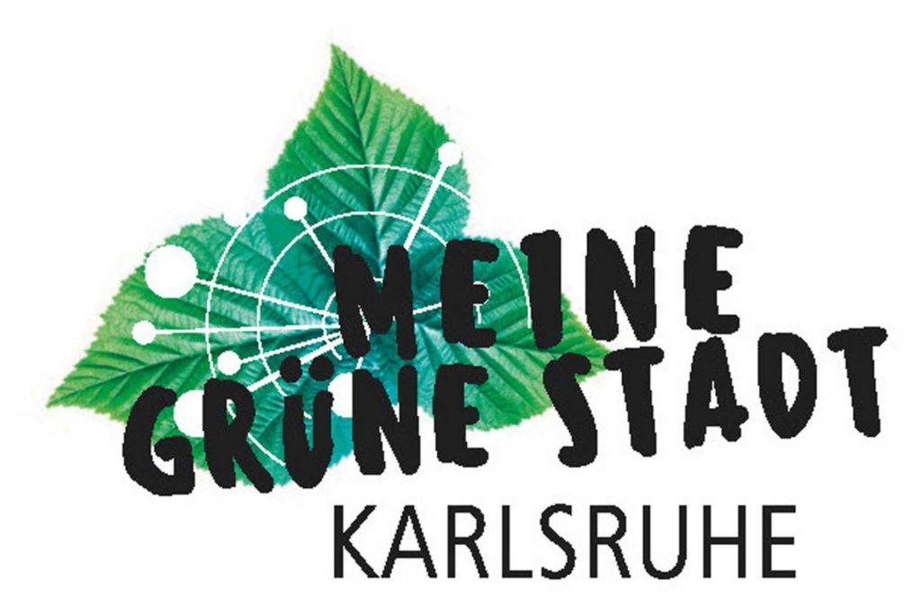 Karlsruhe, Grüne Stadt - Logo