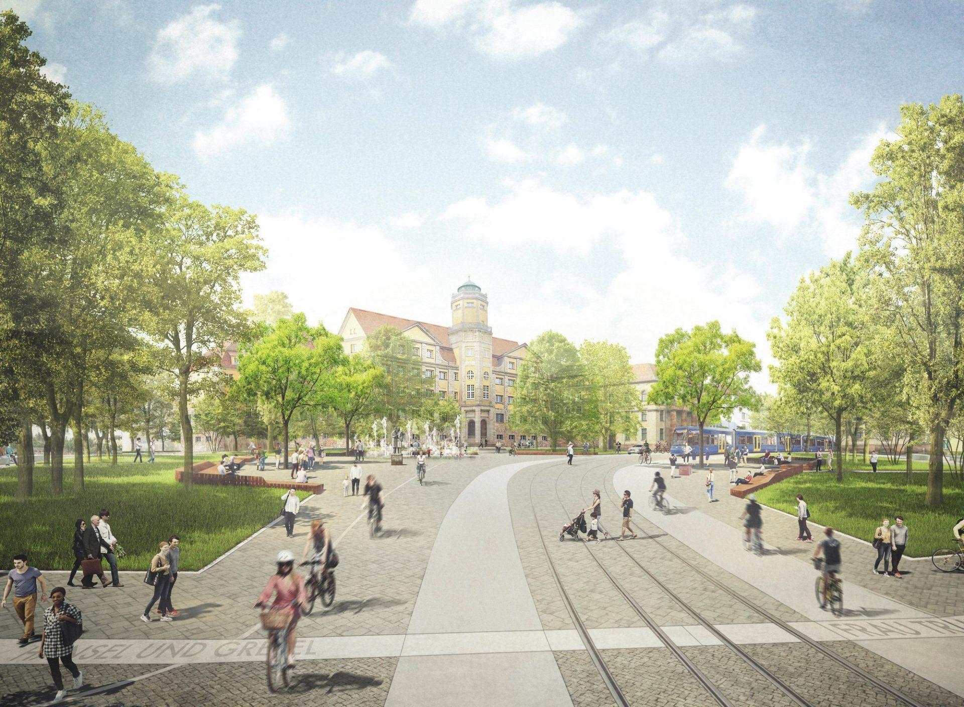 Kassel, Brüder-Grimm-Platz