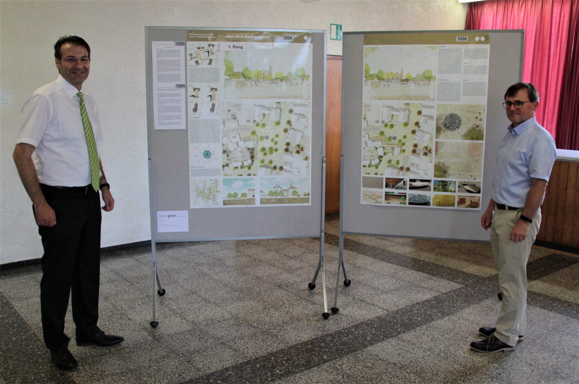 Planungskonkurrenz Kronau, Areal Lamm Siegerentwurf