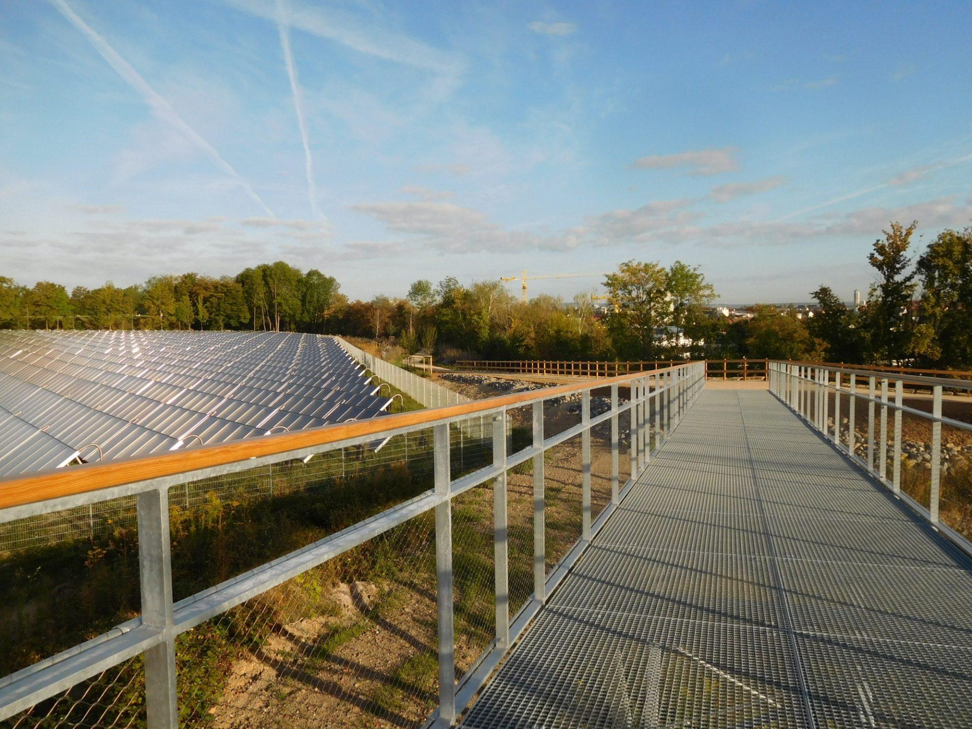 Ludwigsburg, Solarthermieanlage Römerhügel