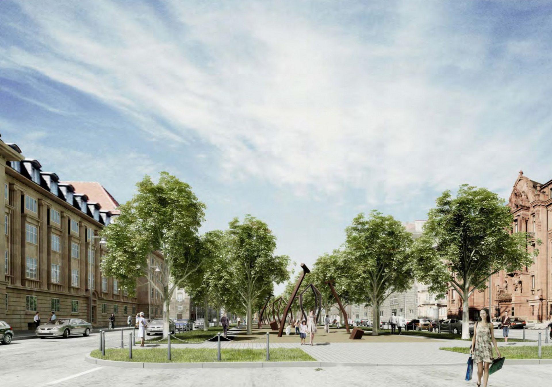 Mannheim, Augustaanlage