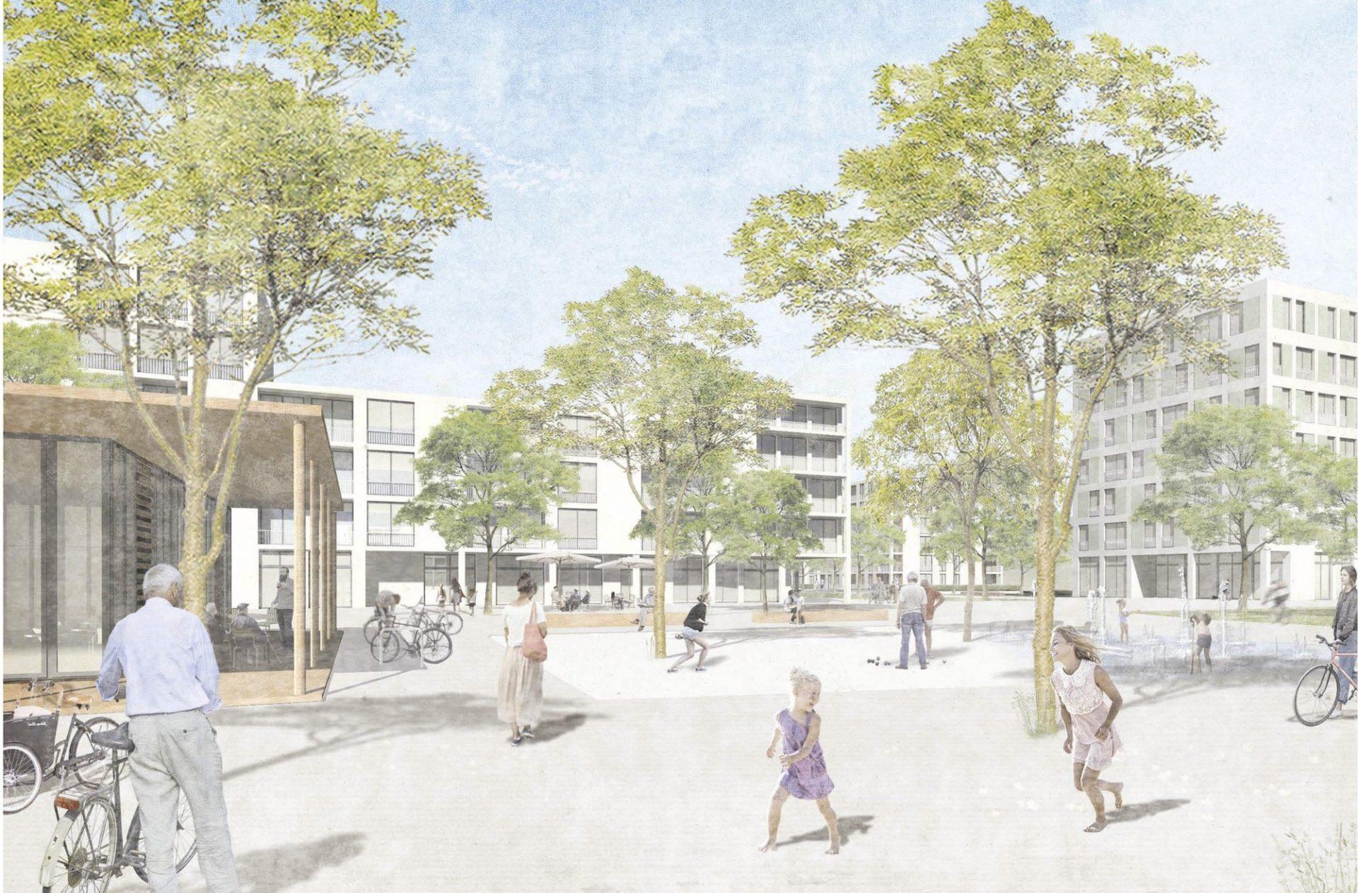 Mannheim, Neue Mitte Schönau