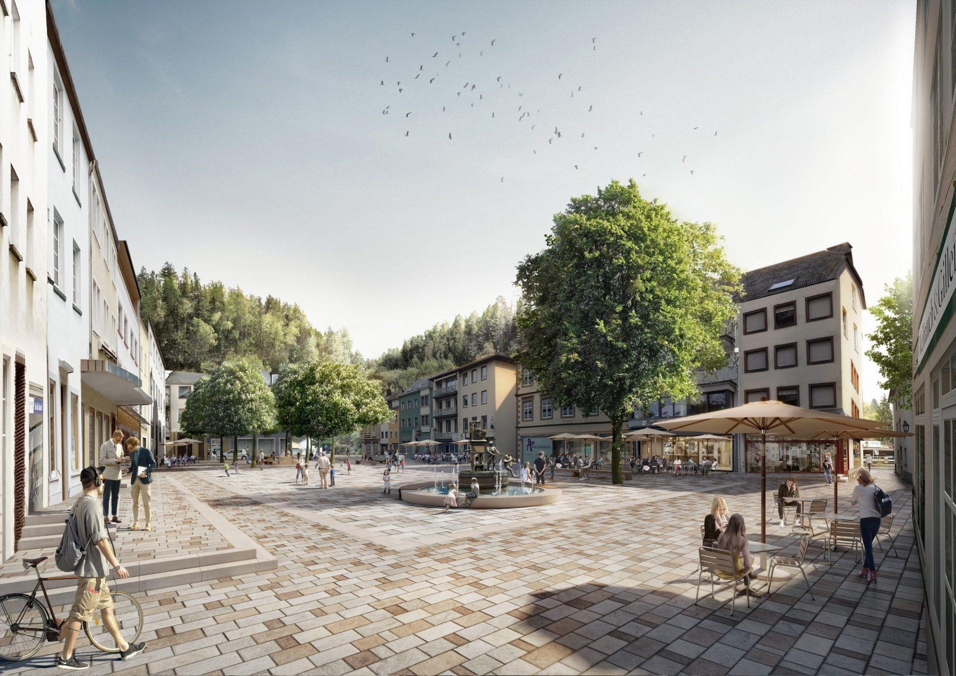Neuerburg Marktplatz