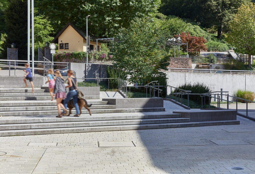 Schramberg, Rathausplatz