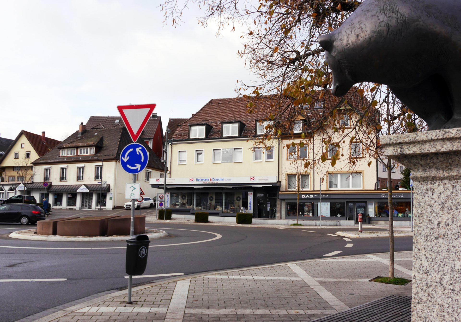 St. Georgen, Bahnhofstraße