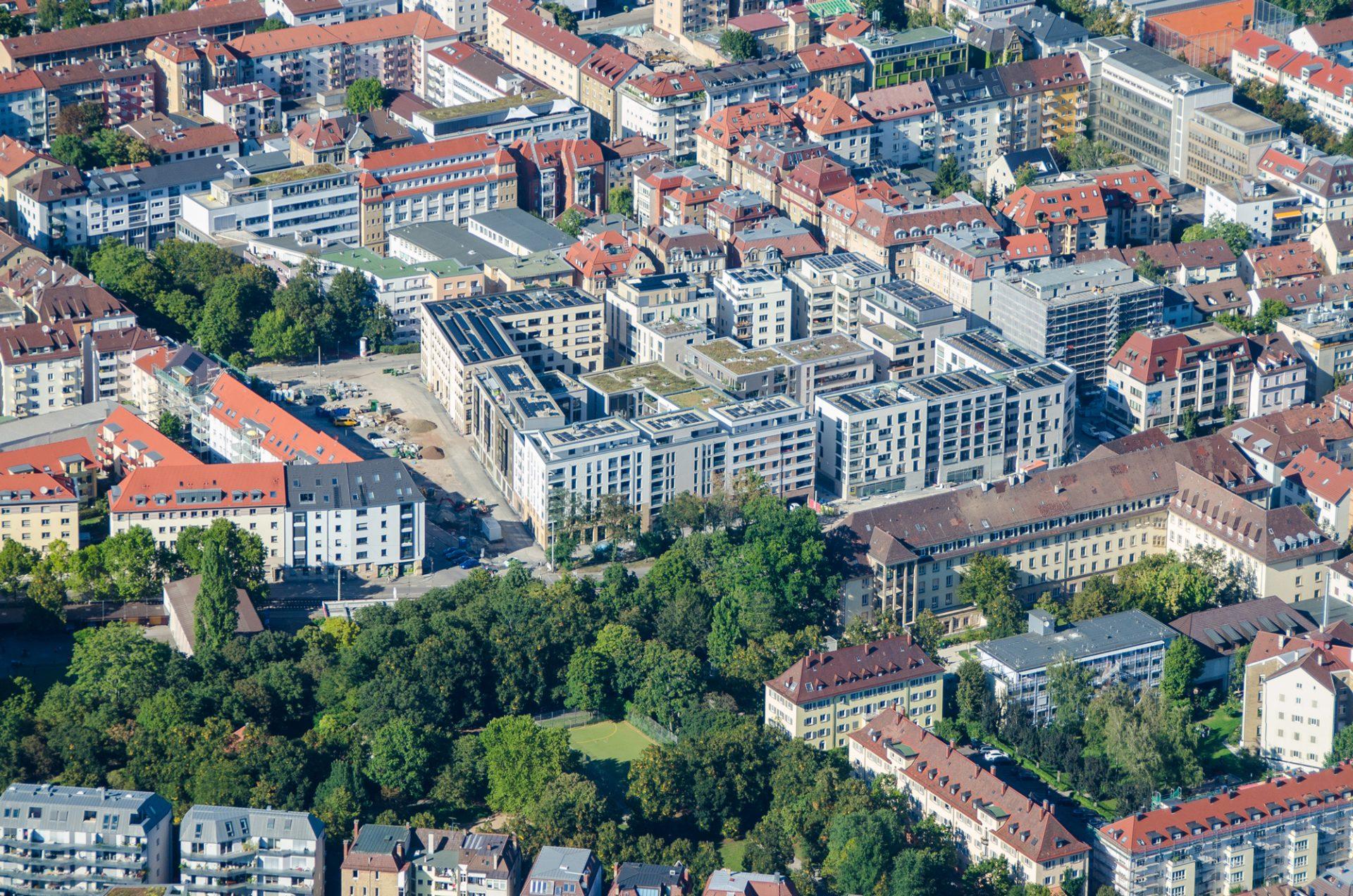 Luftbild Olga-Areal Stuttgart-West
