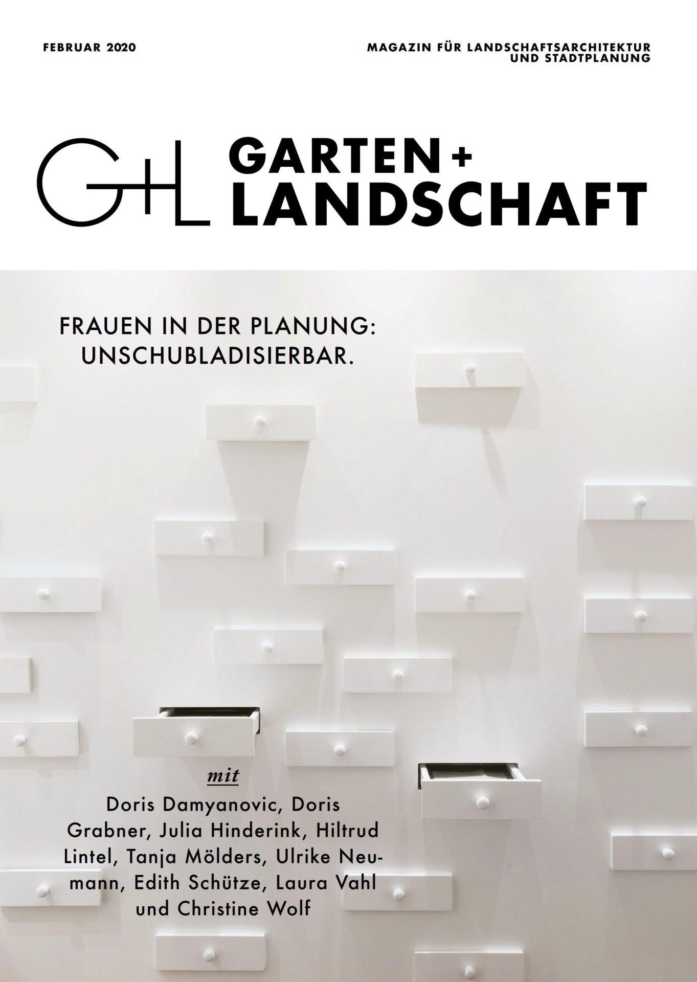 GARTEN+LANDSCHAFT Titelseite