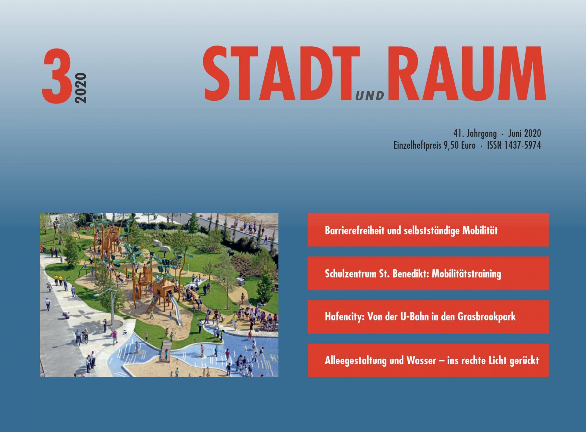 Titel STADT und RAUM Ausgabe 03/2020