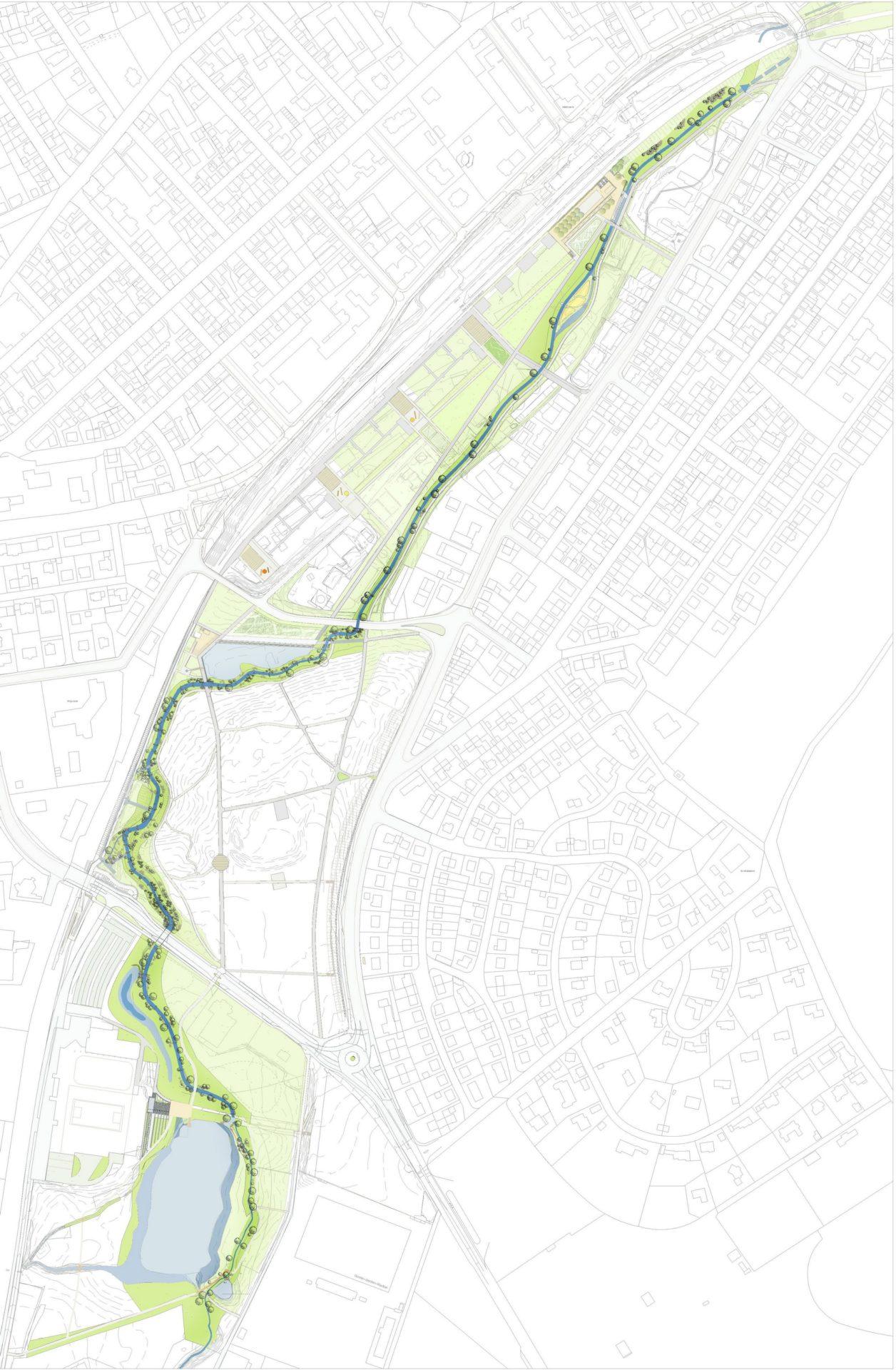 Villingen-Schwenningen, Neckar - Plan