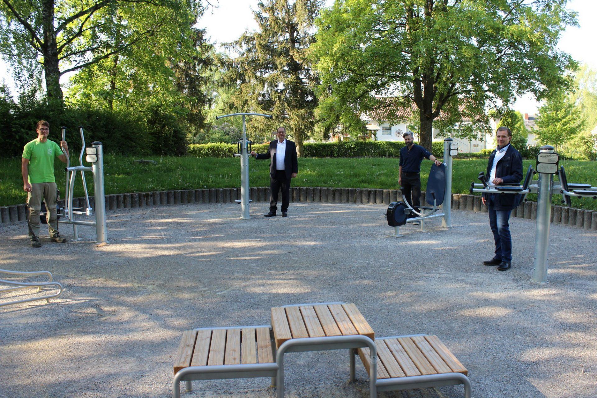 Villingen-Schwenningen, Einweihung Spielplatz Goldenbühl